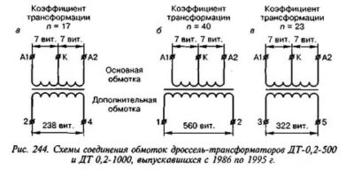 Чем отличается дроссель от трансформатора