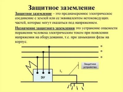 Для чего служит защитное заземление электрооборудования