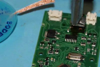 Как выпаивать SMD резисторы