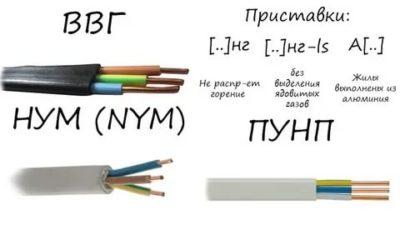 Какой кабель использовать для розеток