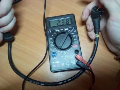 Как проверить провод на обрыв мультиметром