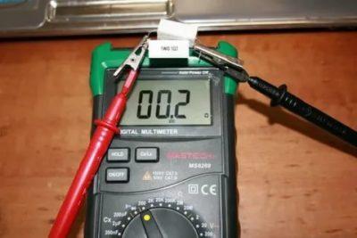 Как проверить Термосопротивление мультиметром