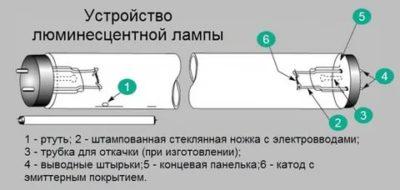 Как устроены люминесцентные лампы
