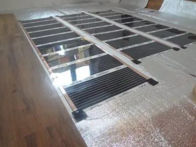 Как установить электрический теплый пол под ламинат