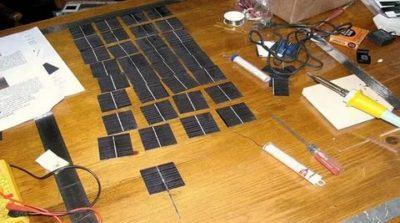 Как можно сделать солнечную батарею
