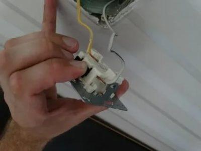 Как поменять внешний выключатель