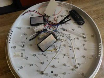 Как проверить диодные лампочки на люстре