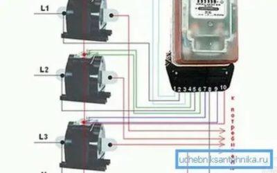 Как правильно подключить трансформатор тока