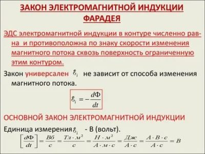 Как звучит закон электромагнитной индукции