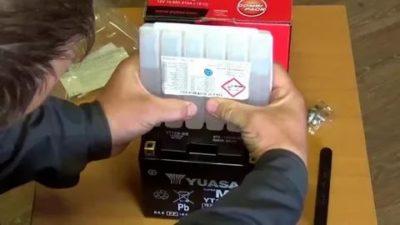 Как правильно зарядить сухой аккумулятор
