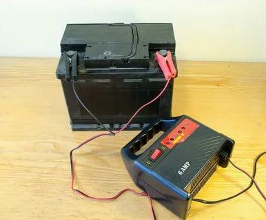 Как зарядить аккумулятор