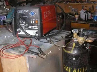 Какой газ нужен для полуавтоматической сварки