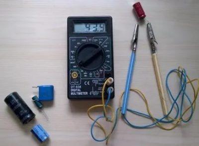 Как проверить конденсатор 1 мкф