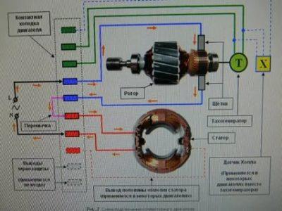 Как подключить электродвигатель от стиральной машины
