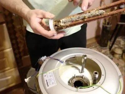 Как заменить магниевый анод в водонагревателе Термекс