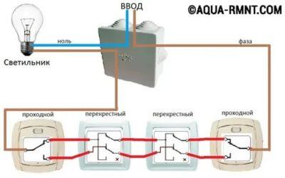 Что такое промежуточный выключатель