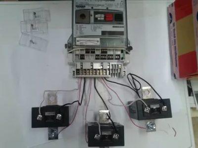 Как подключить счетчик через трансформатор тока