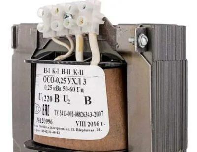 Что такое понижающий трансформатор