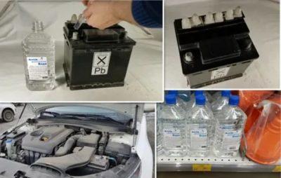 Нужно ли доливать дистиллированную воду в аккумулятор