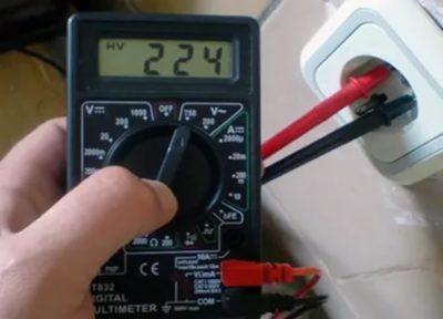 Как проверить тестером 220 вольт