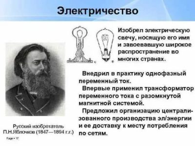 Кто придумал электричество и в каком году
