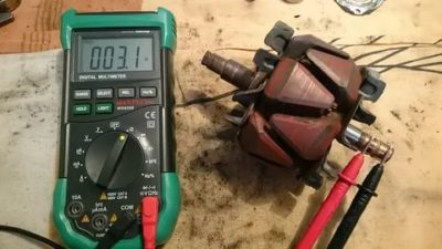 Как проверить обмотку возбуждения генератора