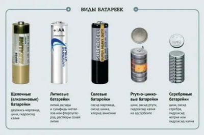В чем разница между аккумулятором и батарейкой