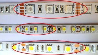 Можно ли разрезать светодиодную ленту