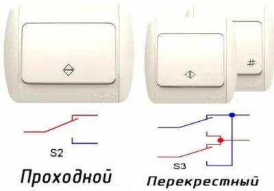 В чем разница между выключателем и переключателем