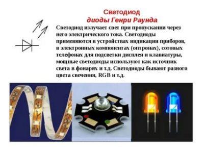 Кто создал светодиодные лампы