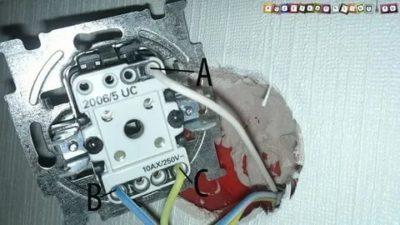 Что такое L на выключателе