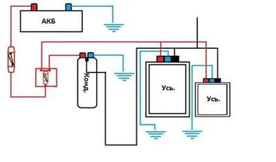 Как правильно подключить конденсатор к усилителю
