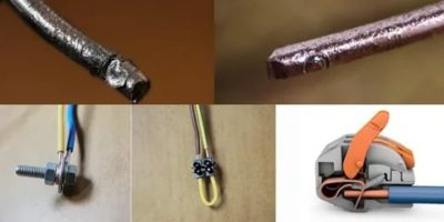 Как соединить медь и алюминий провода