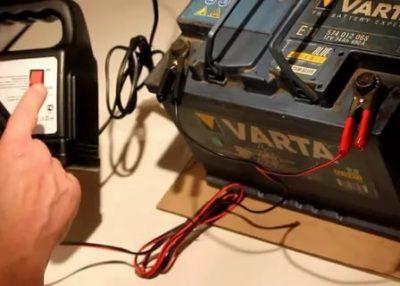 Чем можно зарядить автомобильный аккумулятор