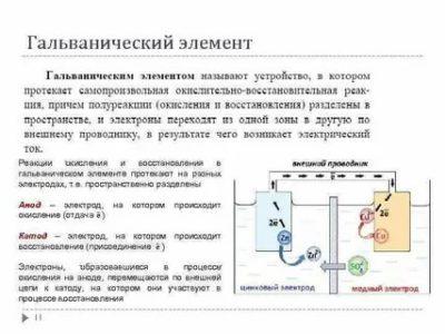Какой электрод в гальваническом элементе называется катодом