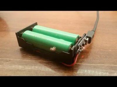 Чем зарядить литий ионный аккумулятор