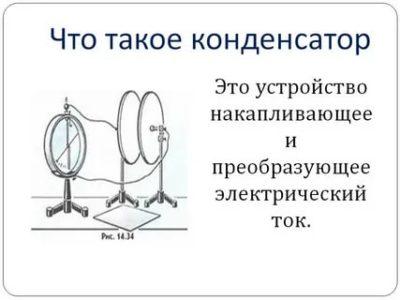 Что такое конденсатор простыми словами