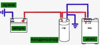 Как правильно подключать конденсаторы