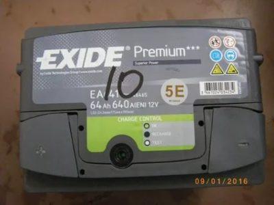 Как узнать дату выпуска аккумулятора Exide Premium