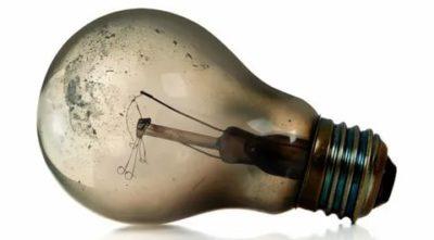 Что за газ в лампочке