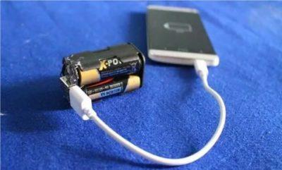 Как зарядить батарейку от батарейки