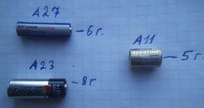 Сколько весит Мизинчиковая батарейка