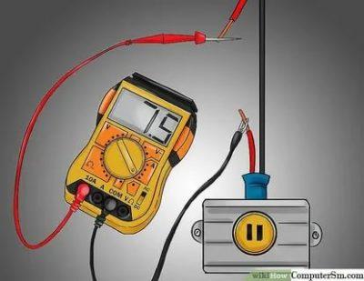 Как измерить силу тока тестером