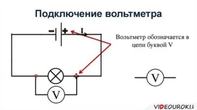 Как подключить вольтметр к цепи