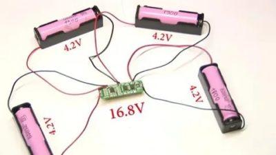 Как правильно зарядить литий ионный аккумулятор 18650