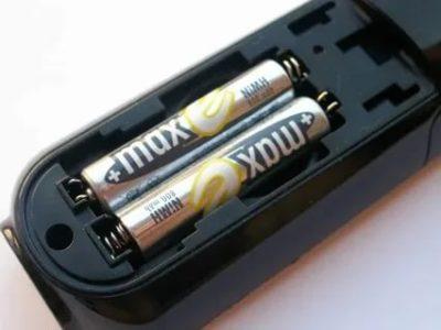 Как зарядить батарейки от пульта