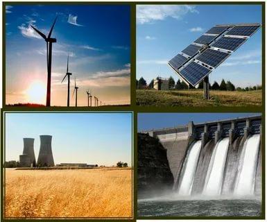 Какие бывают возобновляемые источники энергии