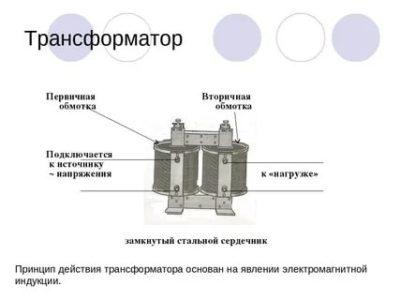 Что такое первичная и вторичная обмотка трансформатора