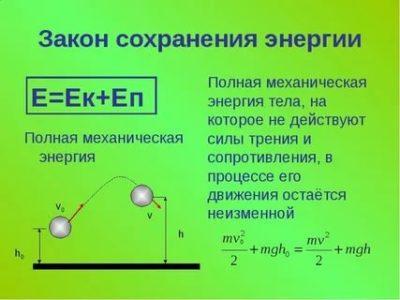 Как формулируется закон сохранения полной механической энергии