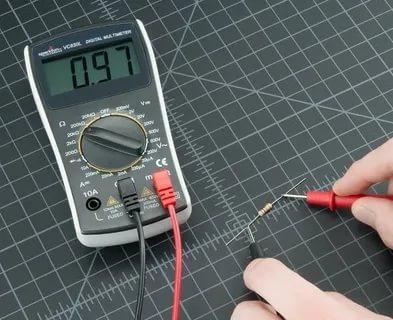 Как измерить сопротивление резистора